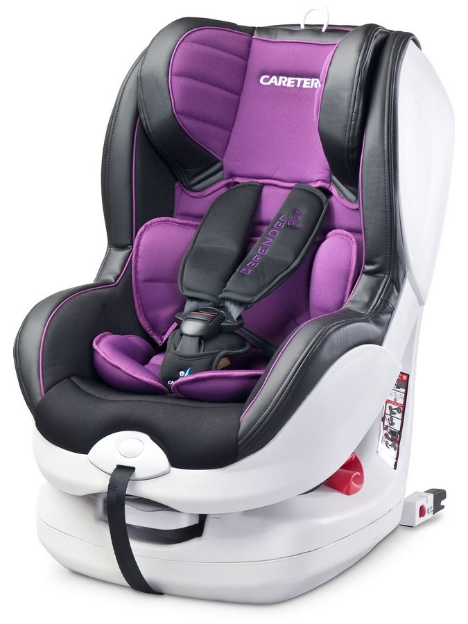 Autosedačka  Defender Plus Isofix purple