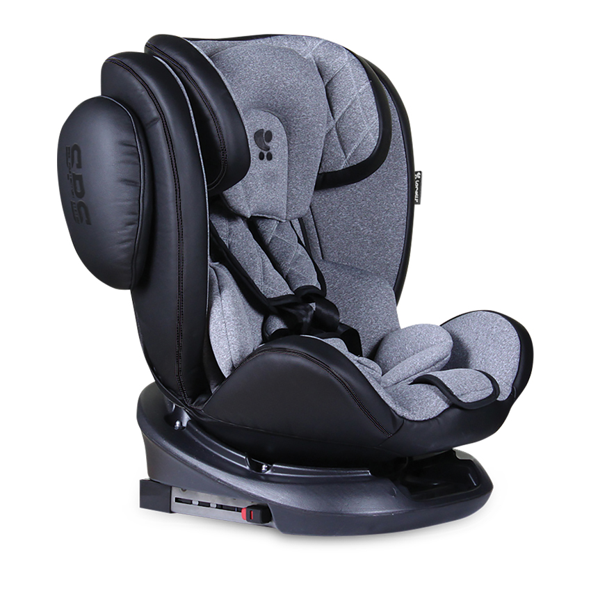 Aviator SPS isofix autosedačka 0-36kg - Black&Light Grey