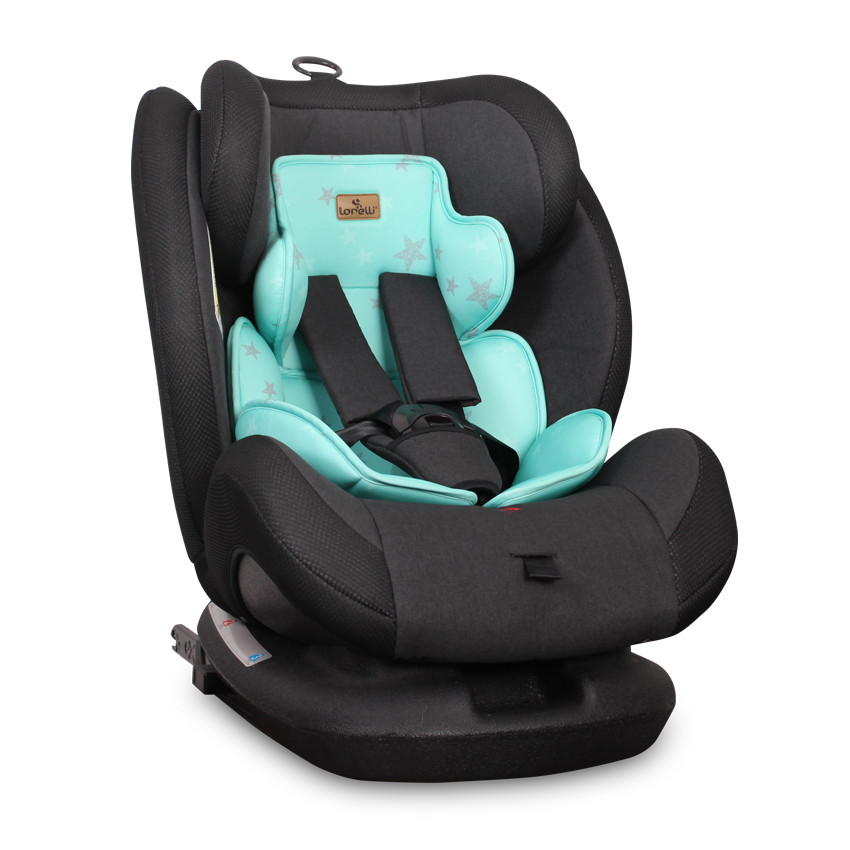 Corsica isofix autosedačka 0-36kg - Black&Green Cities